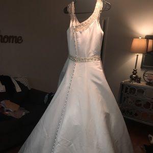 Wedding dress by Mary's